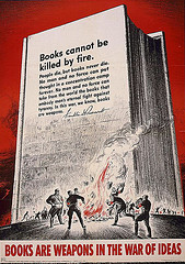 Joan Thewlis. (2009). Books are weapons in the war of ideas by S. Border 1942. Retrieved from http://www.flickr.com/photos/joan_thewlis/3507451987/